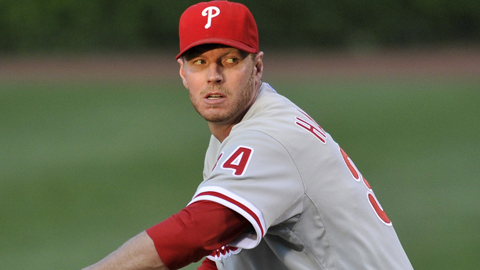 Roy Halladay has 192 wins and 3.25 ERA over a 15-year Major League career.